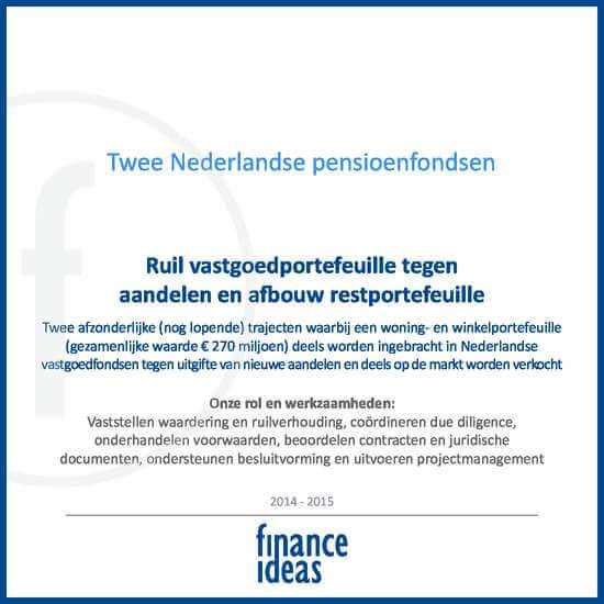 Twee Nederlandse Pensioenfondsen