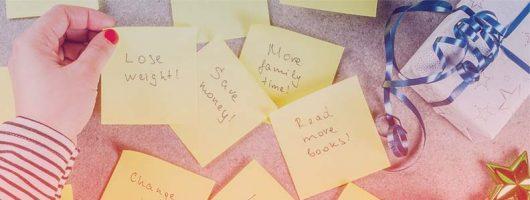 Goede voornemens vragen om gedragsverandering