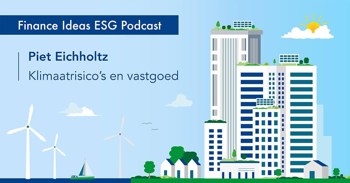 Piet Eichholtz over klimaatrisico's en vastgoed