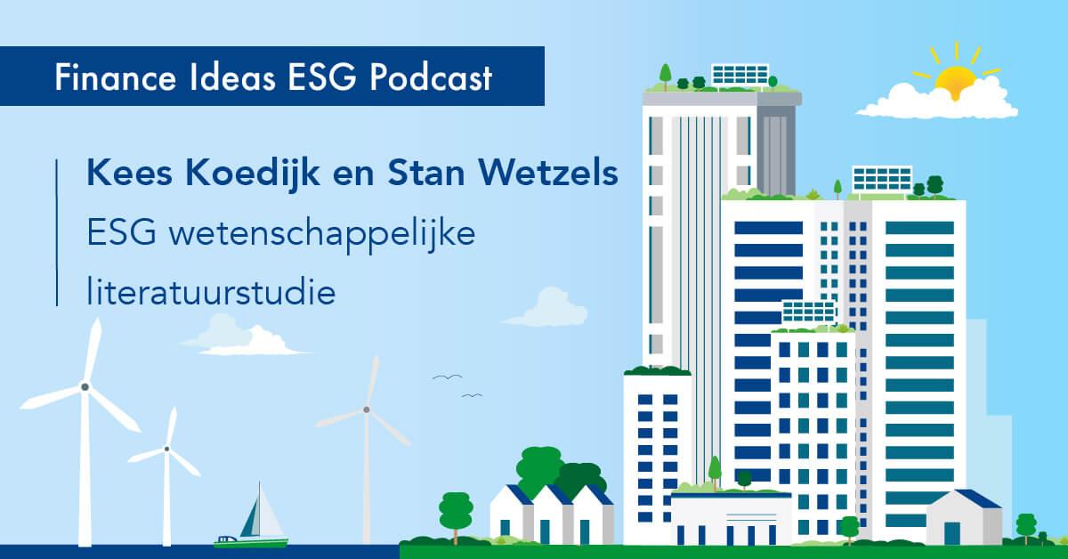ESG podcast over wetenschappelijke literatuurstudie