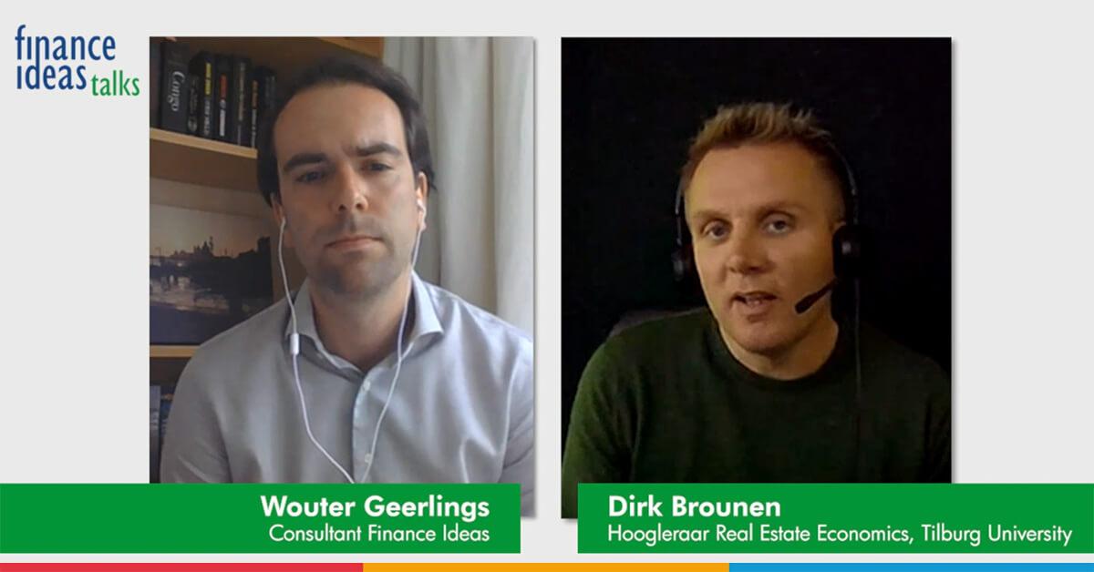 Dirk Brounen over de effecten van de coronacrisis op de vastgoedmarkt